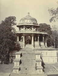 The cenotaph of Maharana Amar Singhji II, the Royal Crematory at Ahr, near Udaipur